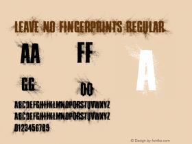 Leave No Fingerprints
