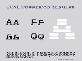 JVNE Wopper'83
