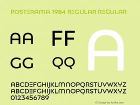 Posterama 1984 Regular