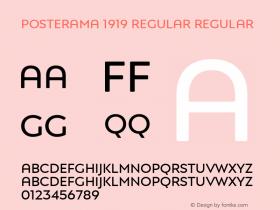 Posterama 1919 Regular