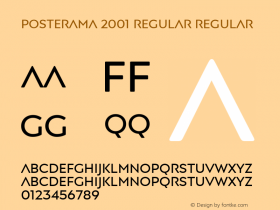 Posterama 2001 Regular