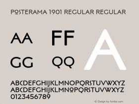 Posterama 1901 Regular