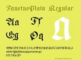 FaustusPlain