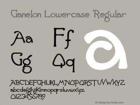 Ganelon Lowercase