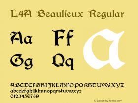 L4A Beaulieux