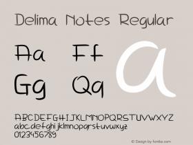Delima Notes