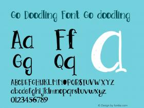 Go Doodling Font