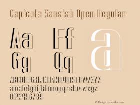 Capicola Sansish Open