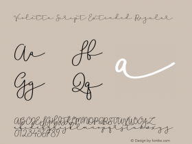 Violetta Script Extended