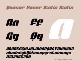 Quasar Pacer Italic