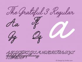 The Grateful 3