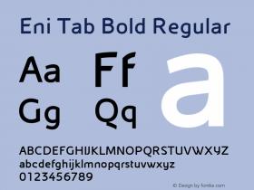 Eni Tab Bold