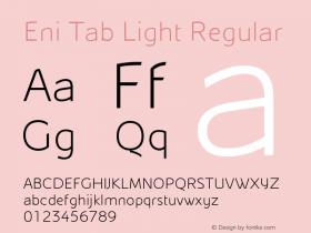 Eni Tab Light