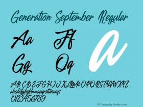 Generation September
