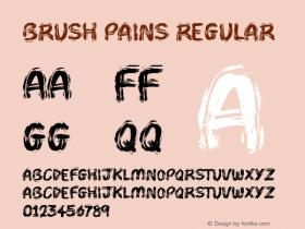 Brush Pains