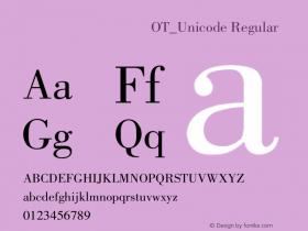 方正蒙文包体OT_Unicode