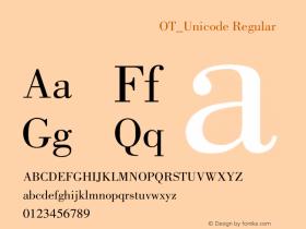 方正蒙文宝硬体OT_Unicode