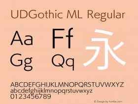 UDGothic ML