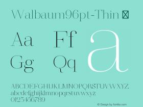 Walbaum96pt-Thin