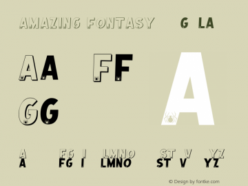 AMAZING FONTASY