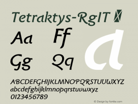 Tetraktys-RgIT