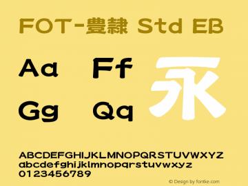 FOT-豊隷 Std