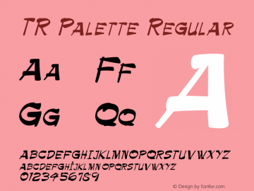 TR Palette