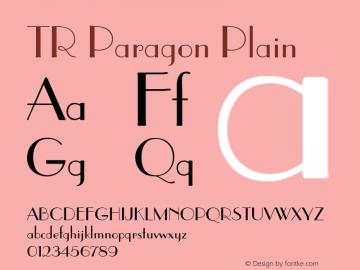 TR Paragon