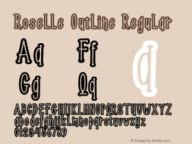 Roselle Outline