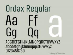 Ordax