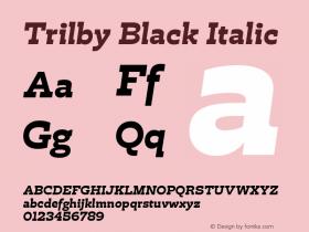Trilby Black