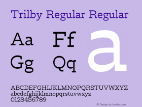 Trilby Regular