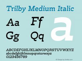 Trilby Medium