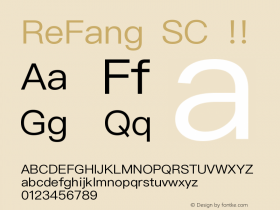 ReFang SC