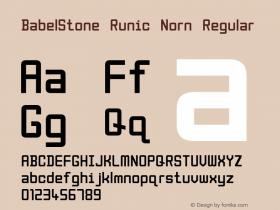 BabelStone Runic Norn