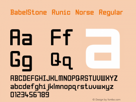 BabelStone Runic Norse