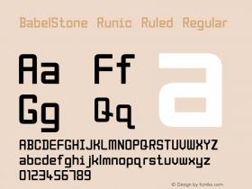 BabelStone Runic Ruled