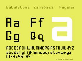 BabelStone Zanabazar