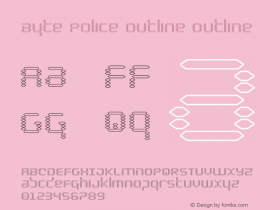 Byte Police Outline