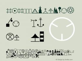 1:1万符号