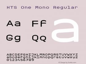 HTS One Mono