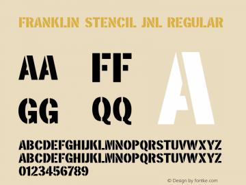 Franklin Stencil JNL