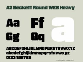A2 Beckett Round WEB