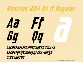 Nicotine W04 Bd It