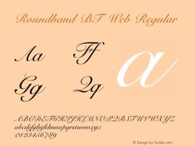 Roundhand BT Web