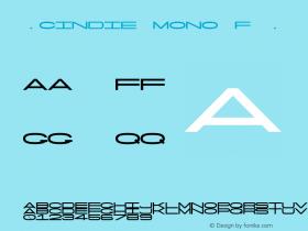 ☞Cindie Mono F