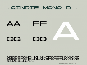 ☞Cindie Mono D
