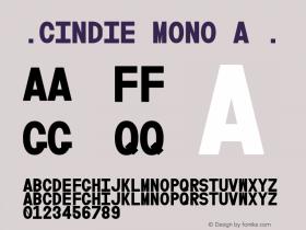 ☞Cindie Mono A