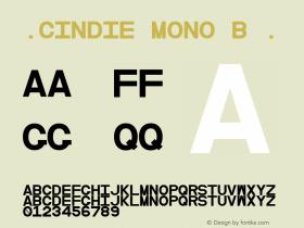 ☞Cindie Mono B