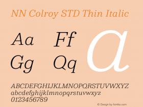 NN Colroy STD